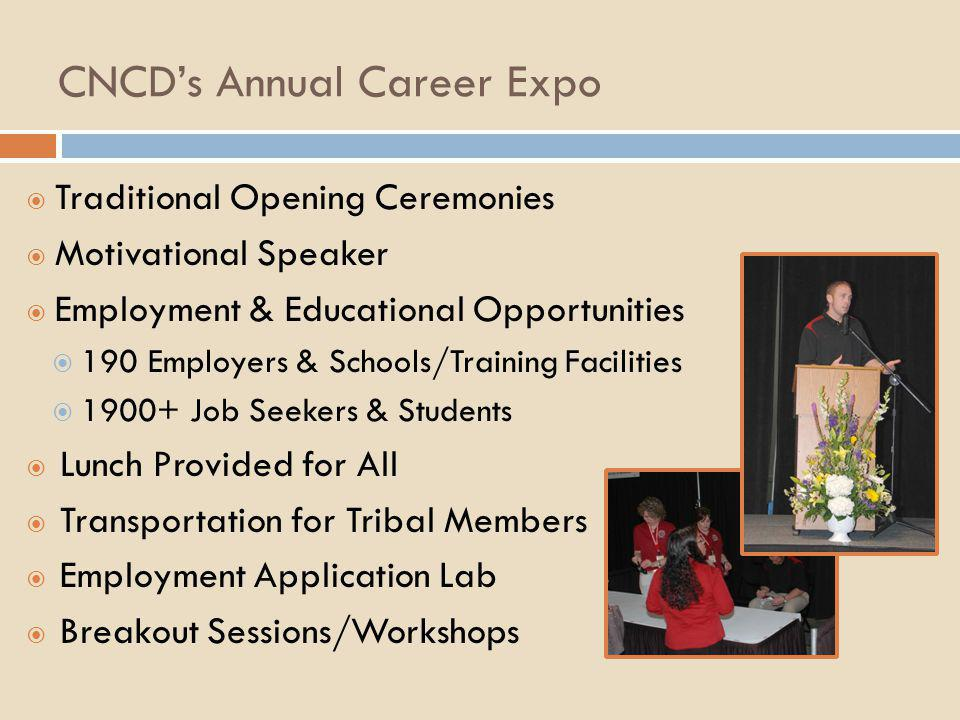 CNCD's Annual Career Expo