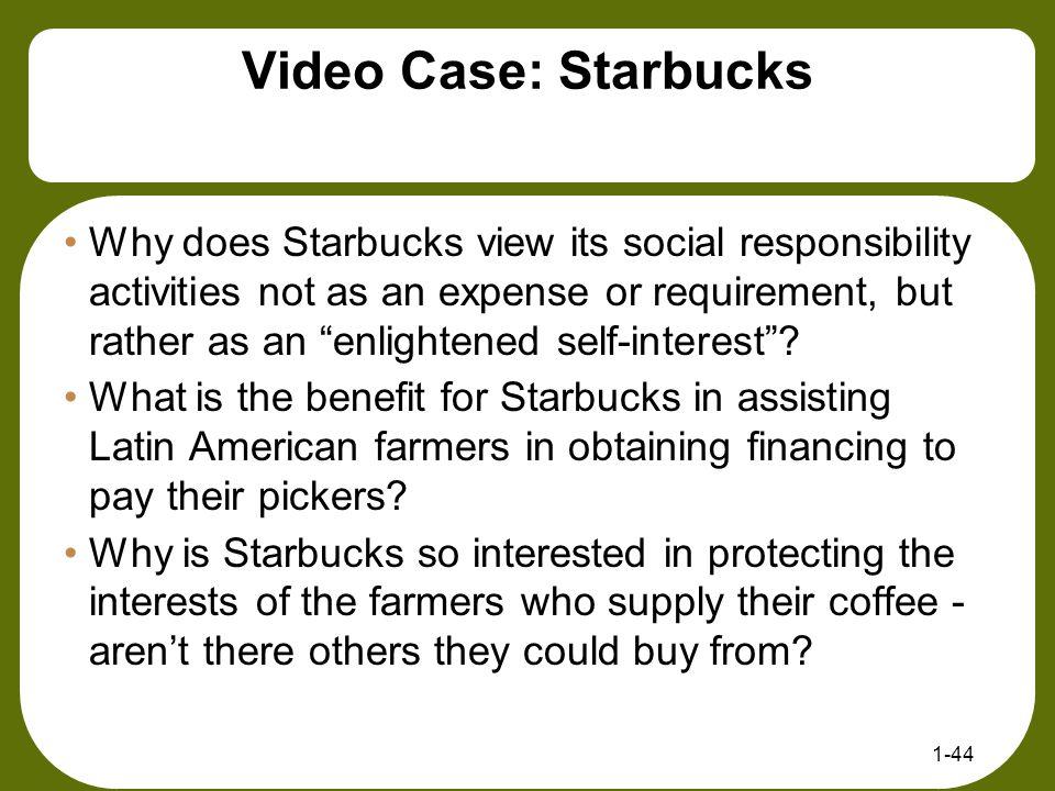Video Case: Starbucks