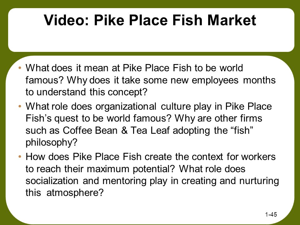 Video: Pike Place Fish Market