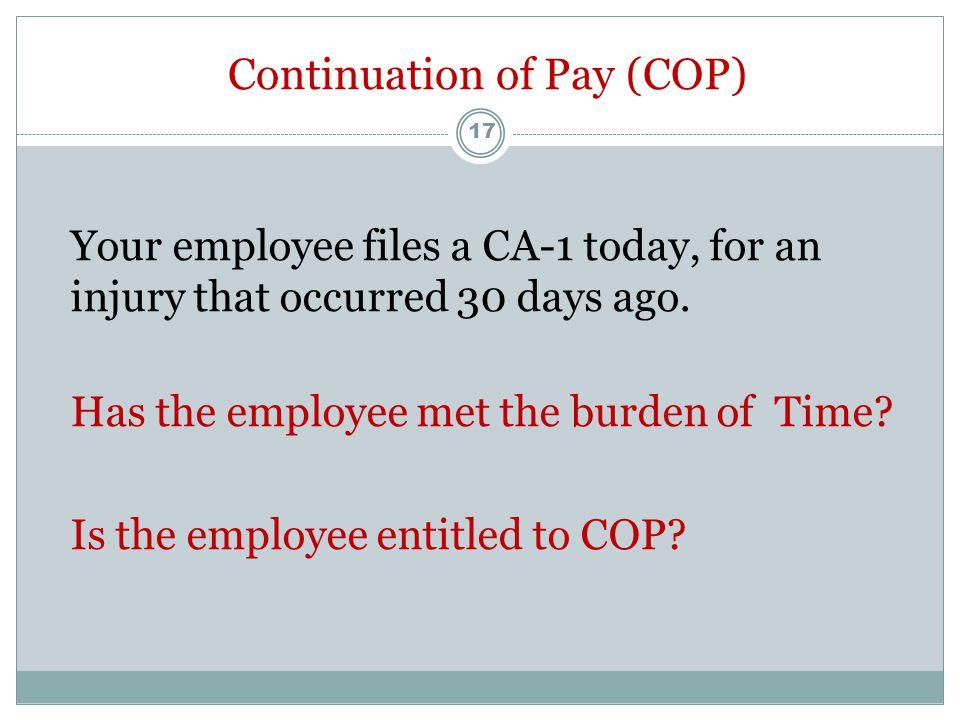 CA-1 or CA-2 Should a CA-1 or a CA-2 be filed