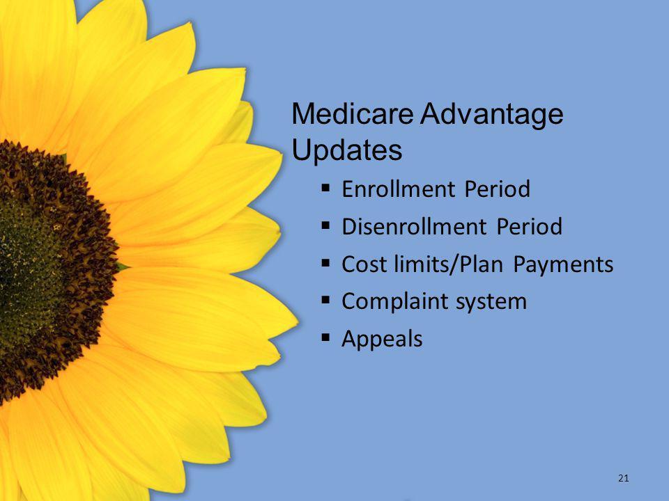 Medicare Advantage Updates