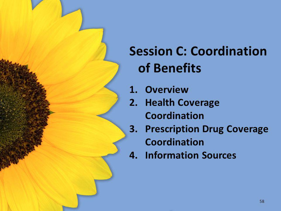 Session C: Coordination of Benefits