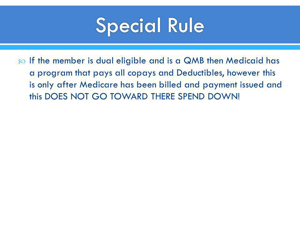 Special Rule