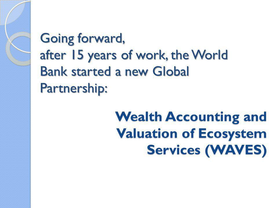 Wealth Accounting and Valuation of Ecosystem Services (WAVES)