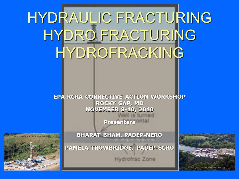 HYDRAULIC FRACTURING HYDRO FRACTURING HYDROFRACKING