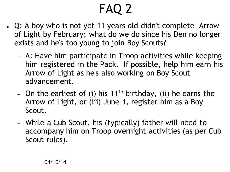 FAQ 2 04/10/14.