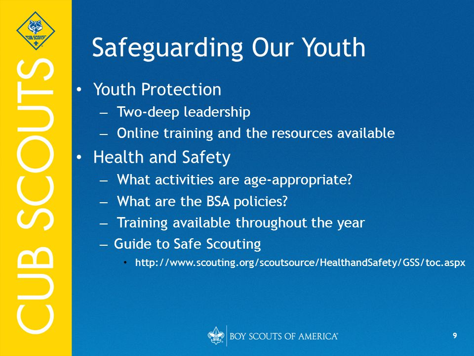 Safeguarding Our Youth