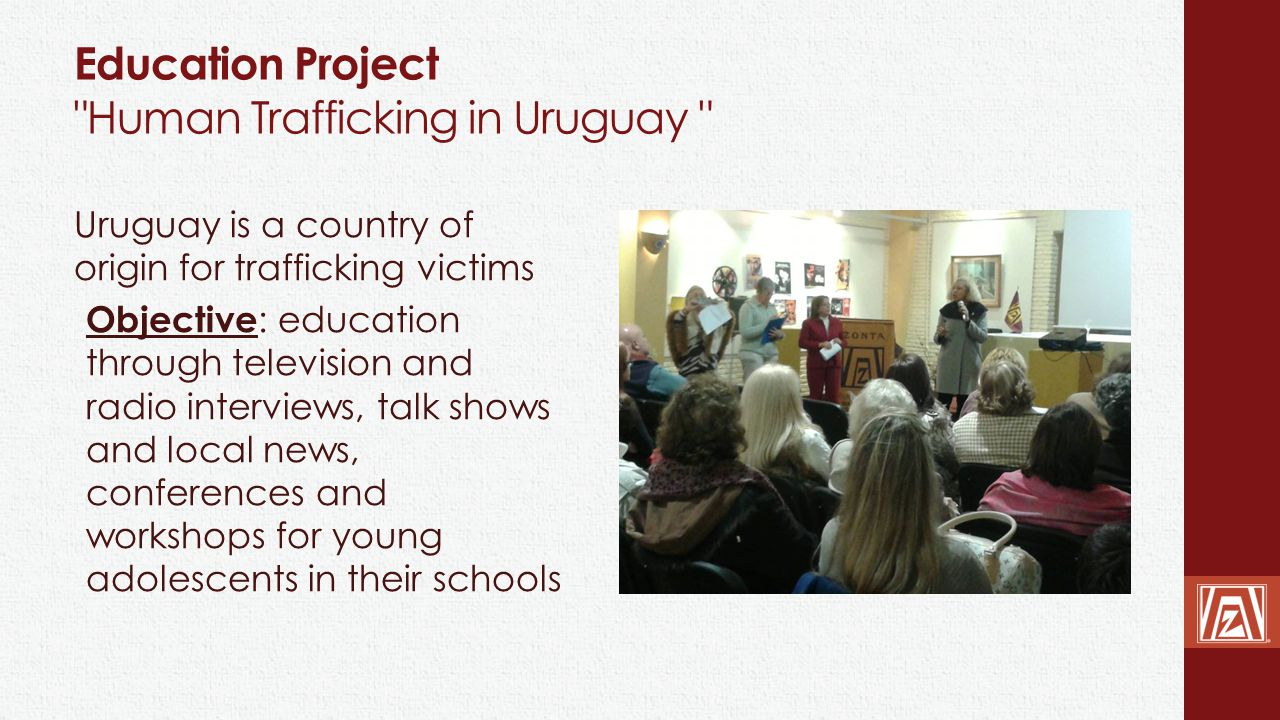 Education Project Human Trafficking in Uruguay