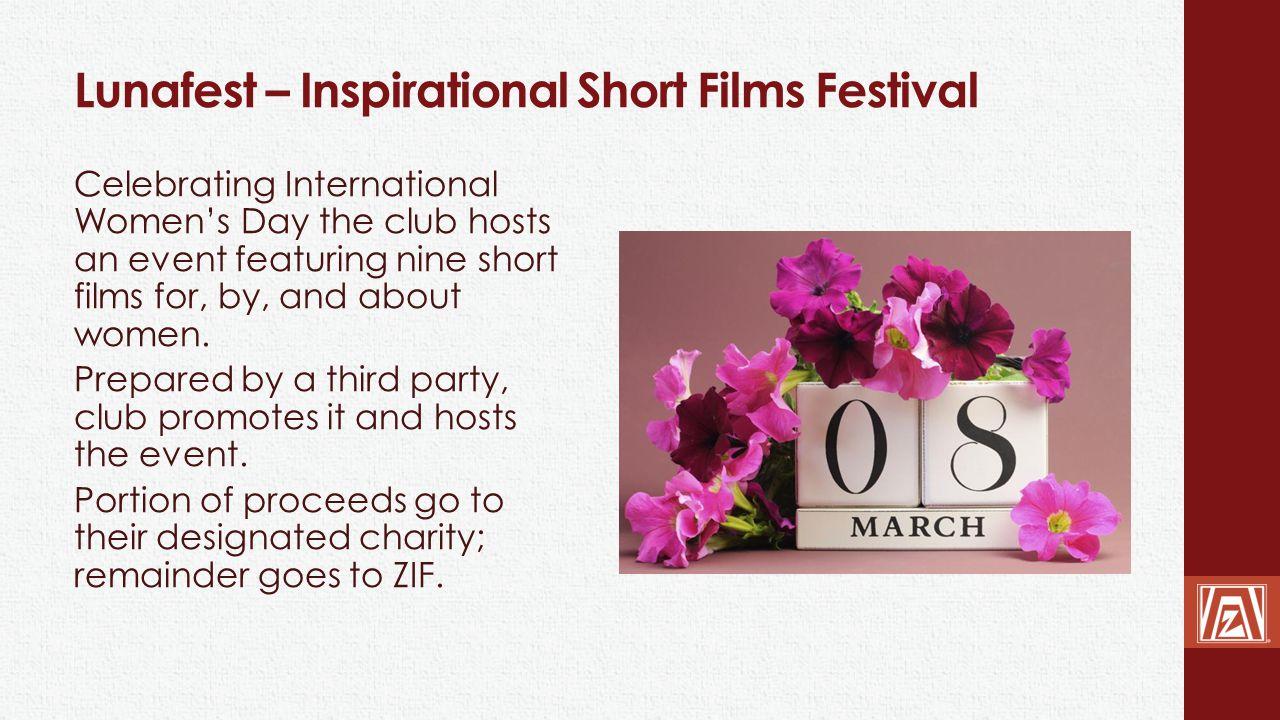 Lunafest – Inspirational Short Films Festival