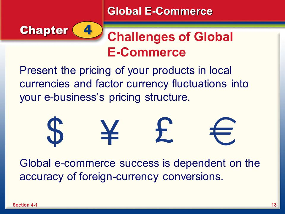 Challenges of Global E-Commerce