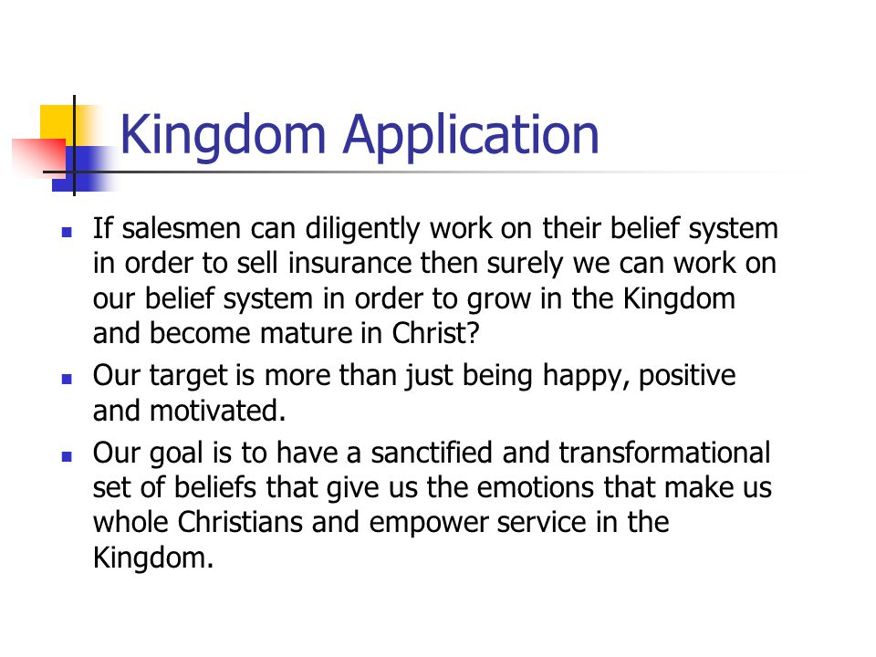 Kingdom Application