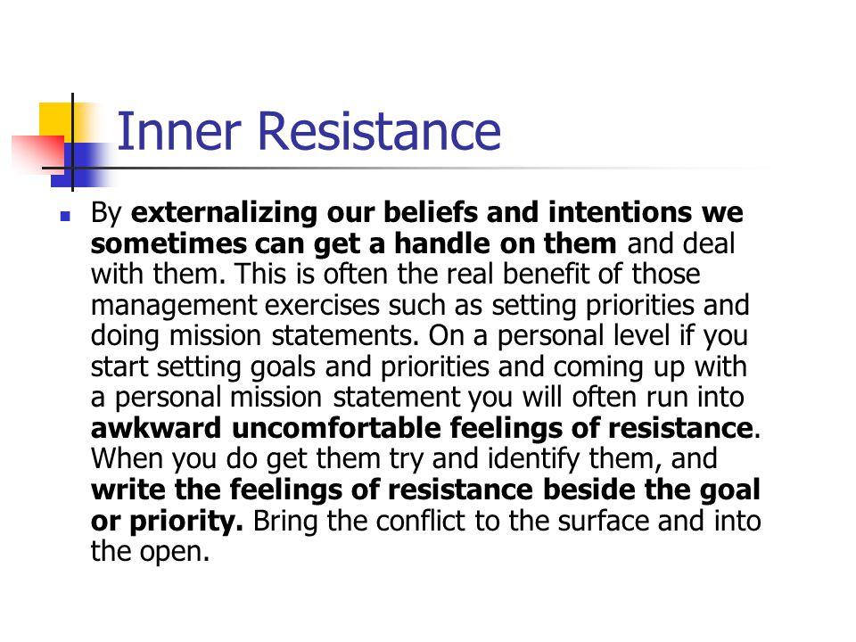 Inner Resistance