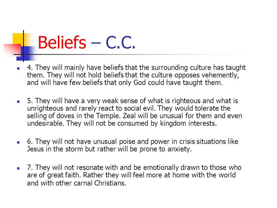 Beliefs – C.C.