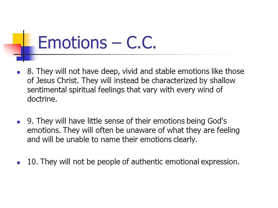 Emotions – C.C.