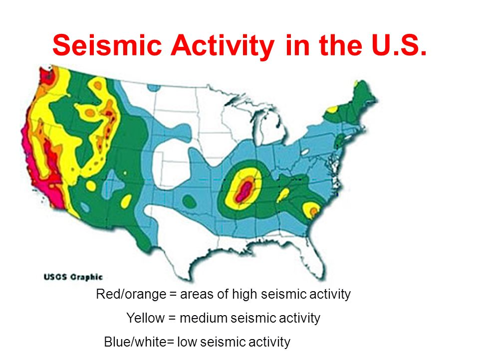 Seismic Activity in the U.S.