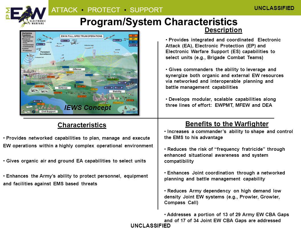 Program/System Characteristics