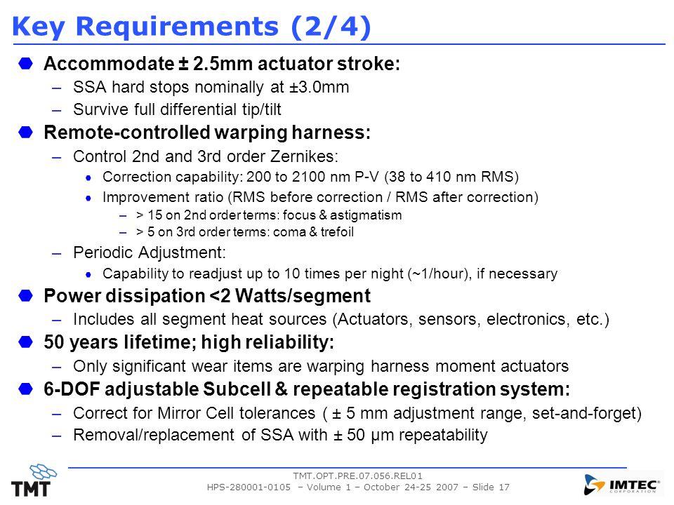 HPS-280001-0105 – Volume 1 – October 24-25 2007 – Slide 17