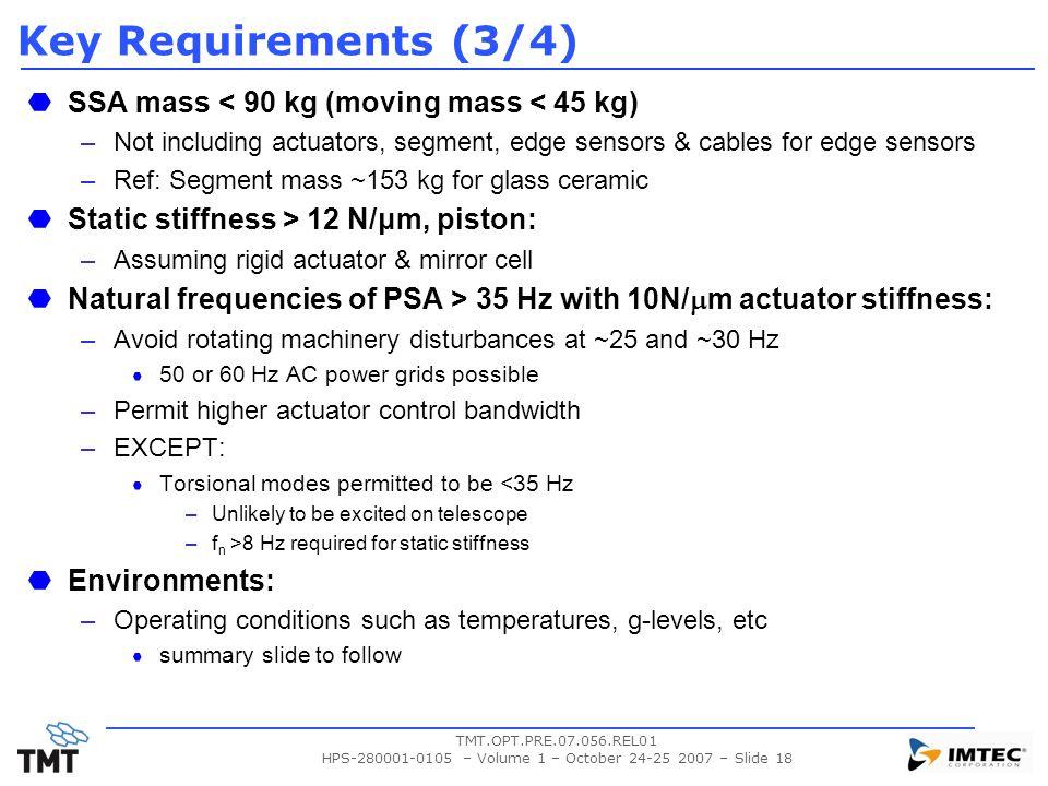 HPS-280001-0105 – Volume 1 – October 24-25 2007 – Slide 18
