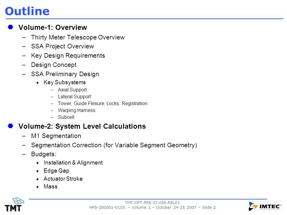 HPS-280001-0105 – Volume 1 – October 24-25 2007 – Slide 2
