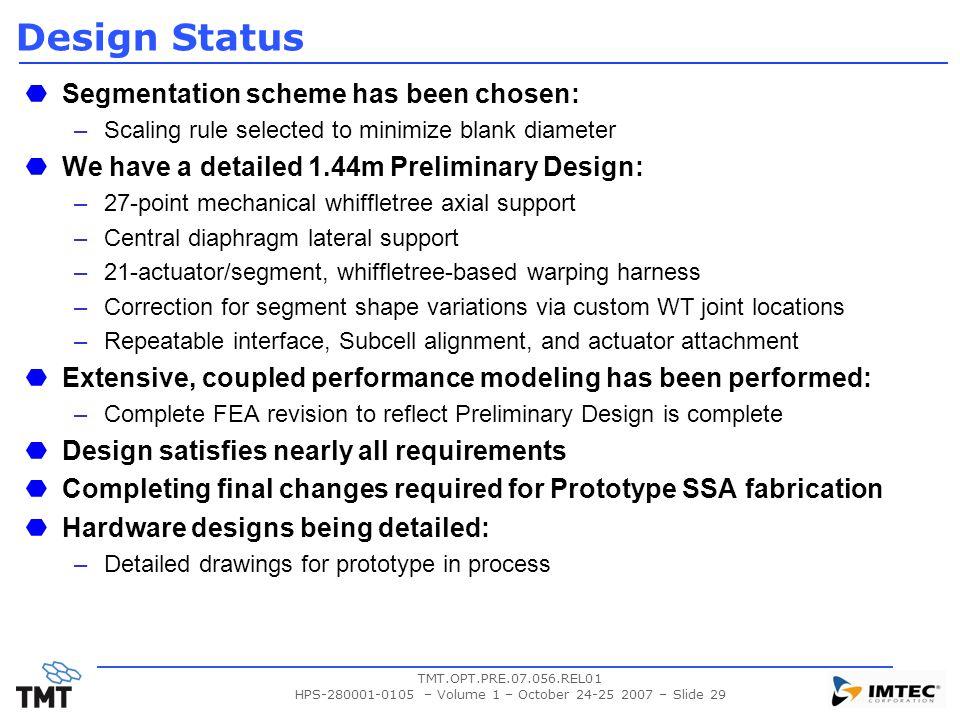 HPS-280001-0105 – Volume 1 – October 24-25 2007 – Slide 29