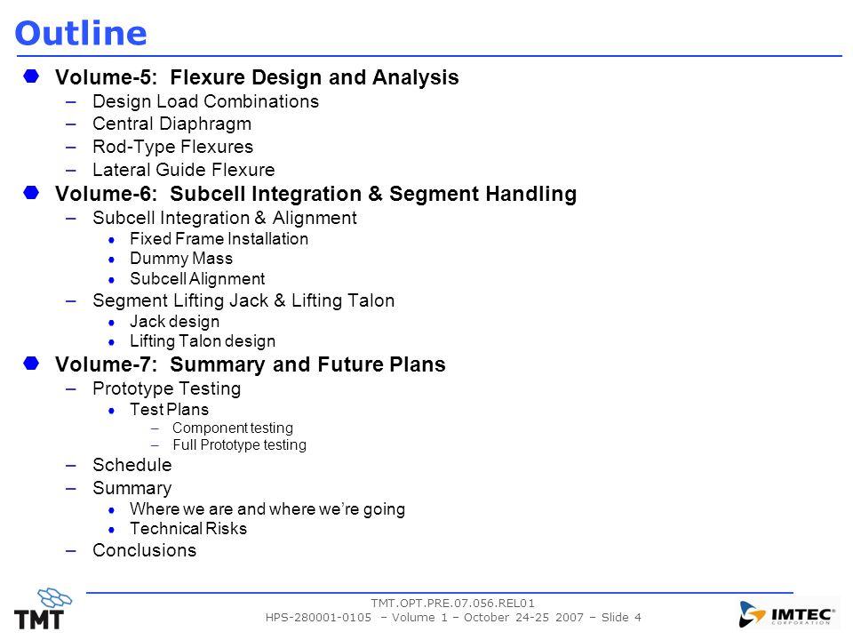 HPS-280001-0105 – Volume 1 – October 24-25 2007 – Slide 4