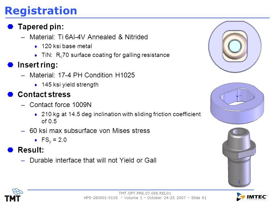 HPS-280001-0105 – Volume 1 – October 24-25 2007 – Slide 61