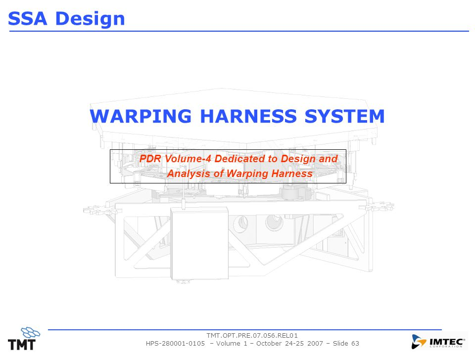 WARPING HARNESS SYSTEM