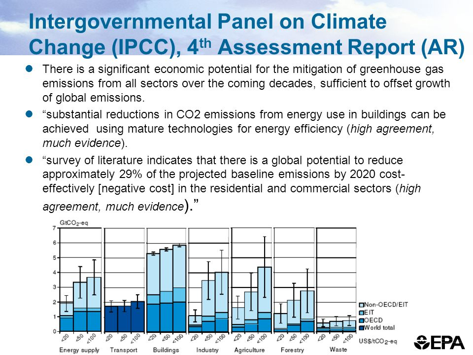 Intergovernmental Panel on Climate Change (IPCC), 4th Assessment Report (AR)