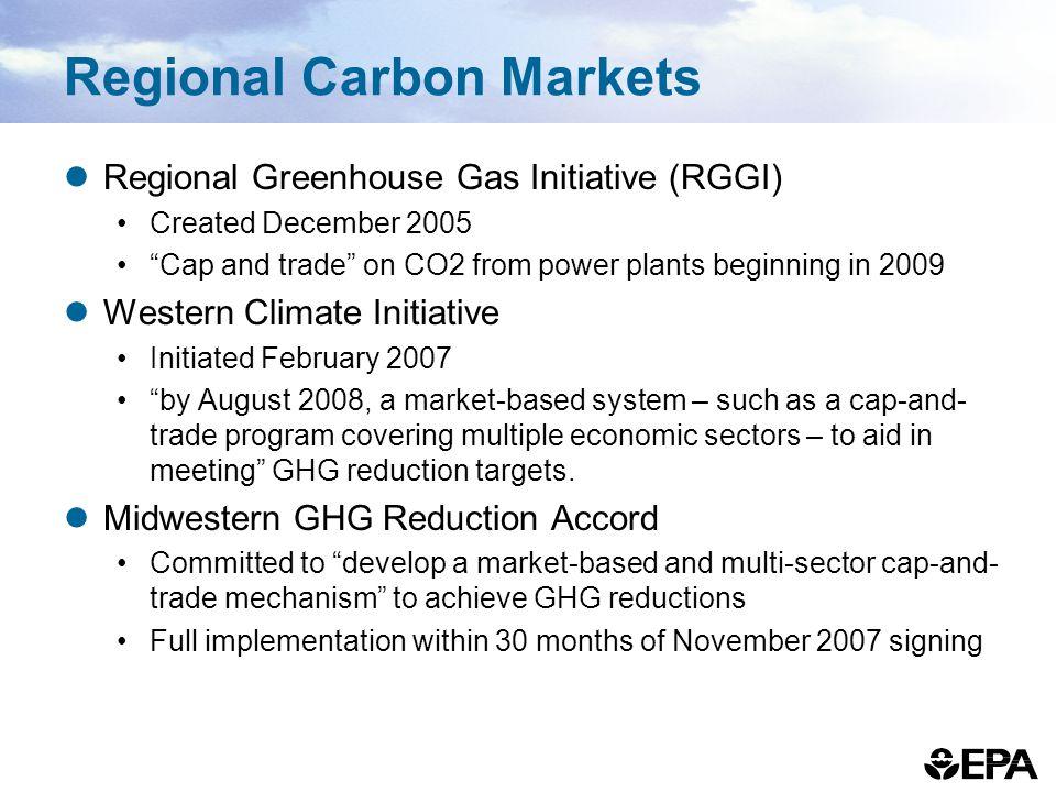 Regional Carbon Markets