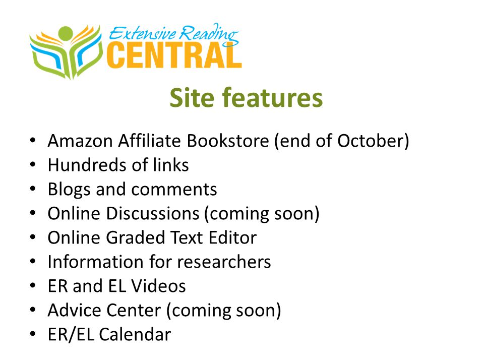 Site features Amazon Affiliate Bookstore (end of October)
