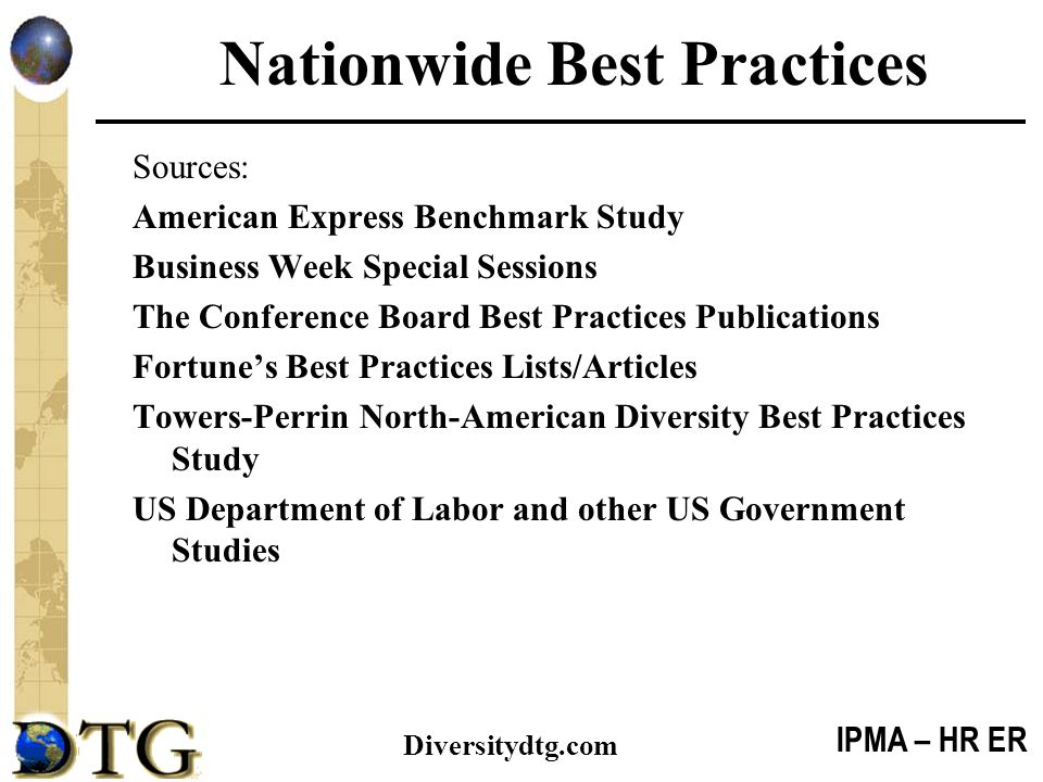 Nationwide Best Practices