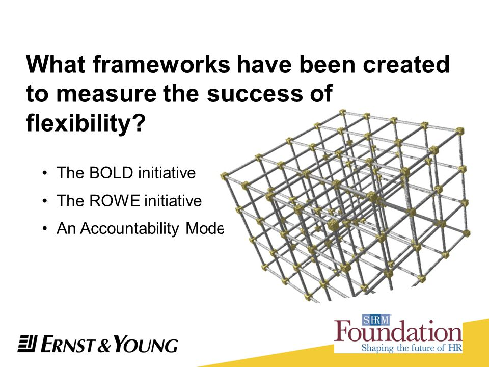 What frameworks have been created to measure the success of flexibility