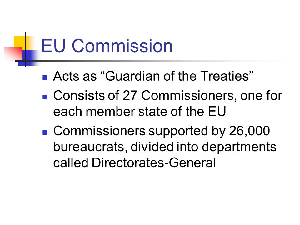 EU Commission Acts as Guardian of the Treaties