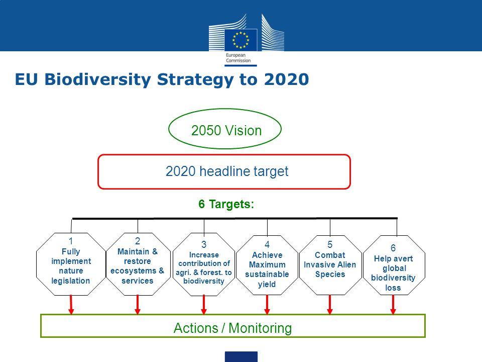 EU Biodiversity Strategy to 2020