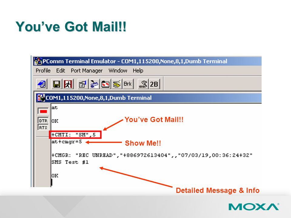You've Got Mail!! You've Got Mail!! Show Me!! Detailed Message & Info