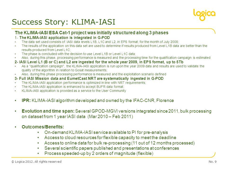 Success Story: KLIMA-IASI