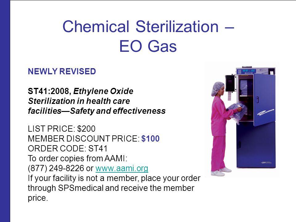 Chemical Sterilization – EO Gas
