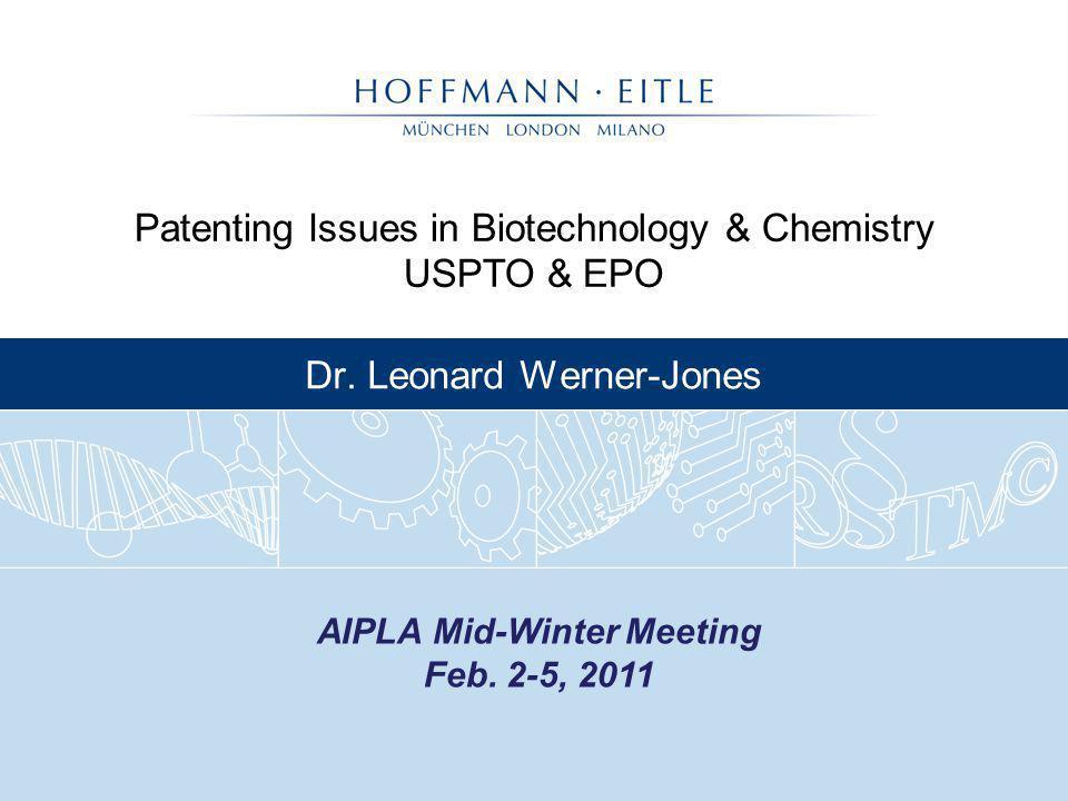 Dr. Leonard Werner-Jones