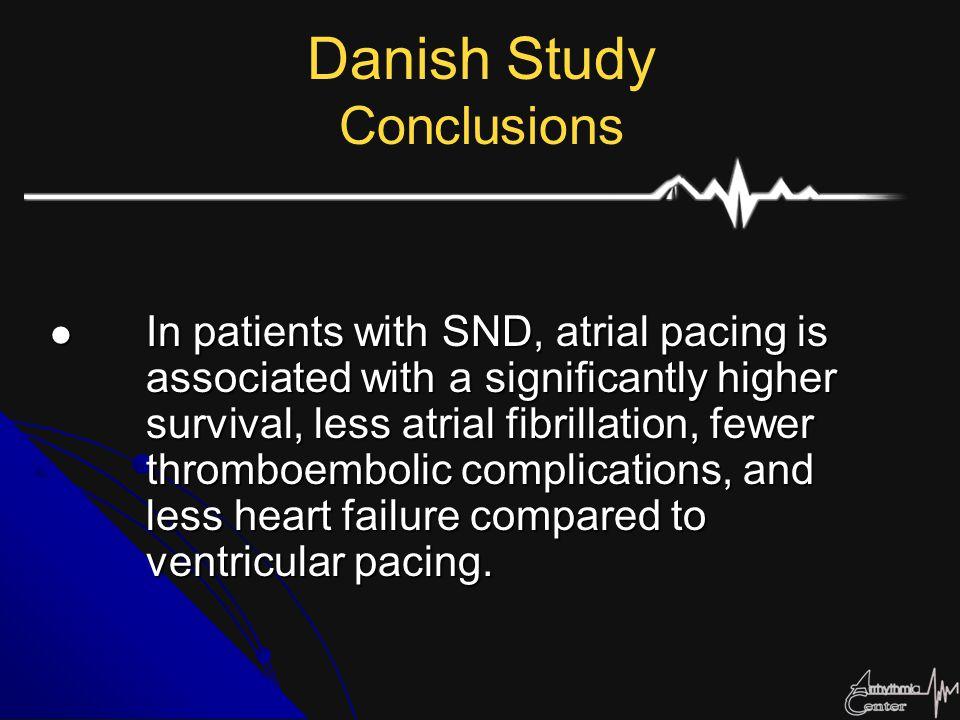 Danish Study Conclusions