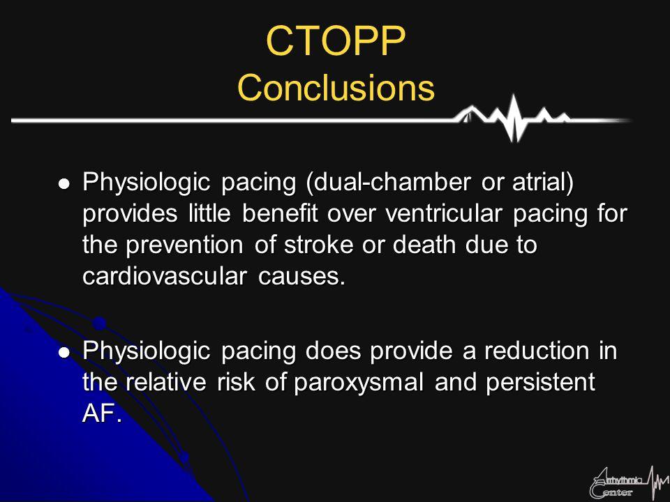 CTOPP Conclusions