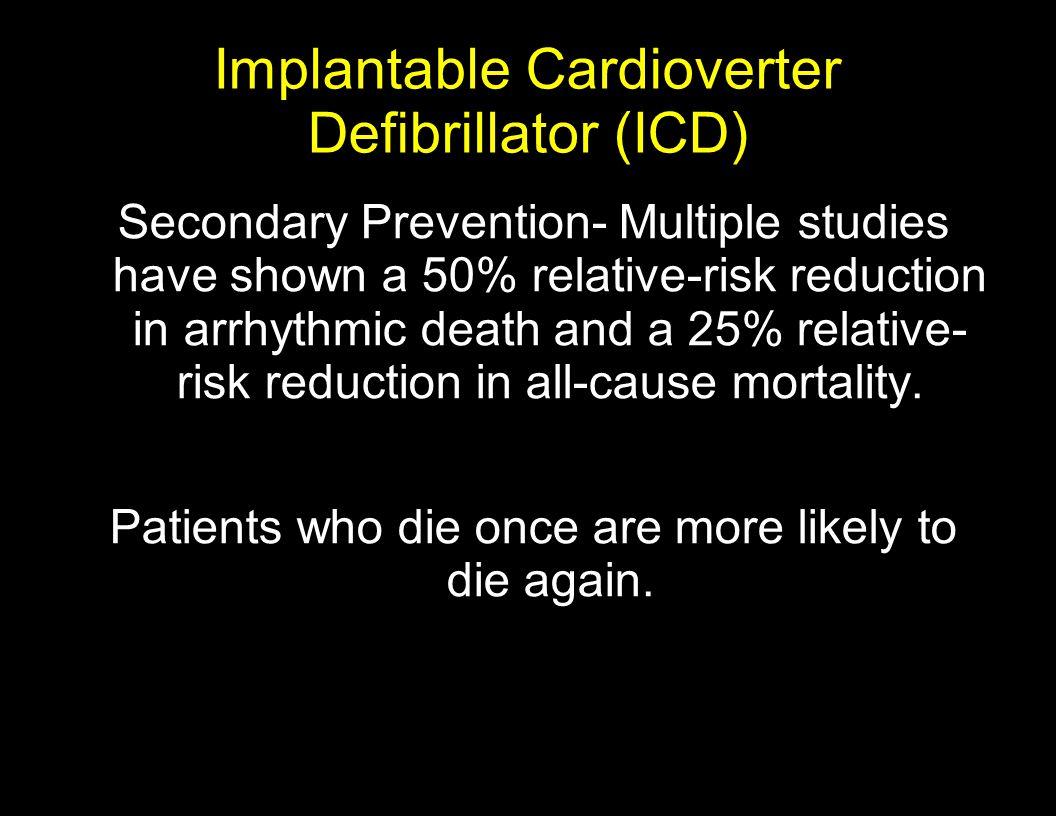 Implantable Cardioverter Defibrillator (ICD)