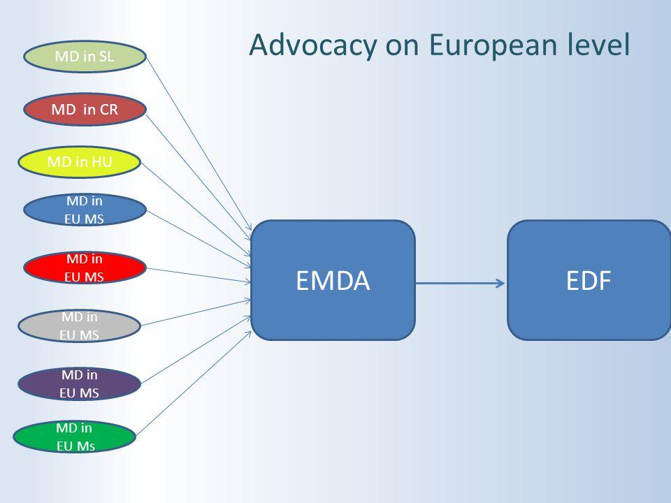 Advocacy on European level