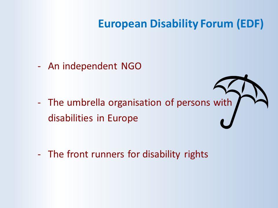 European Disability Forum (EDF)