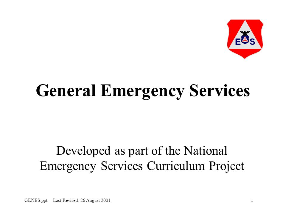 General Emergency Services