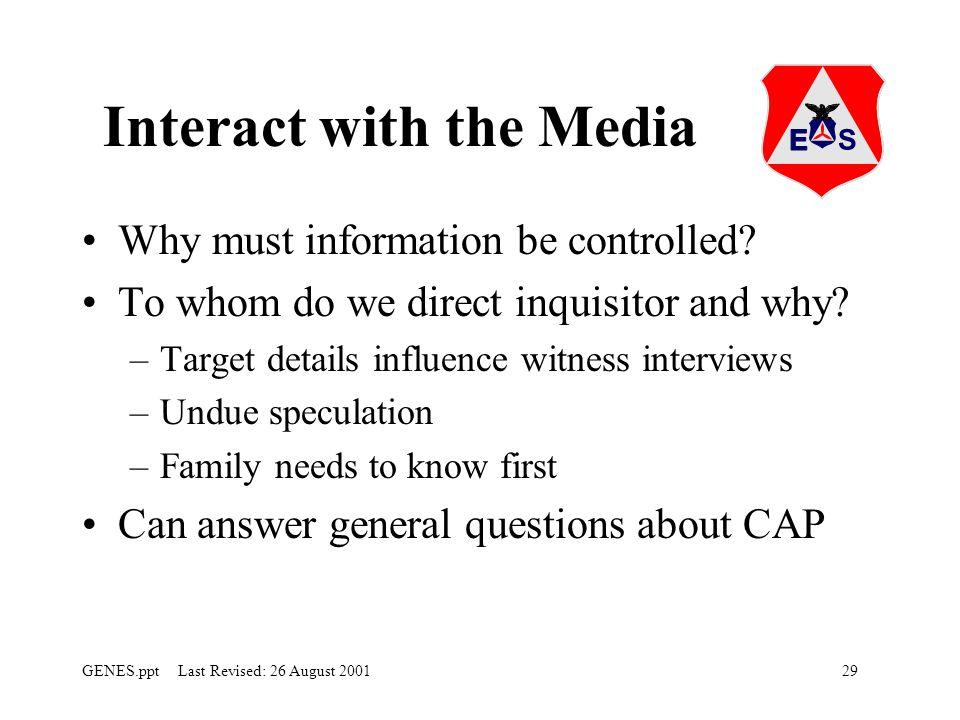 Interact with the Media