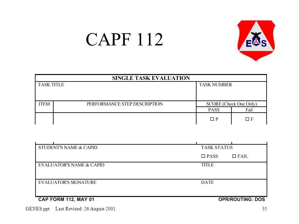 CAPF 112