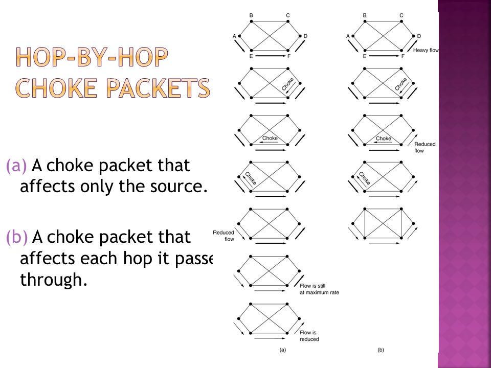 Hop-by-Hop Choke Packets