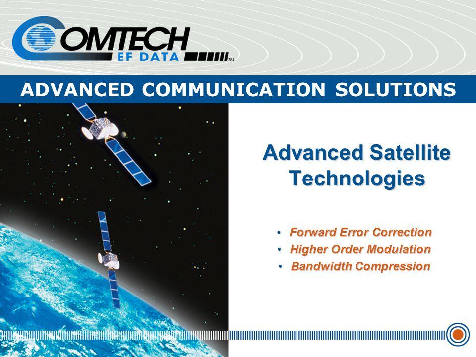 Advanced Satellite Technologies
