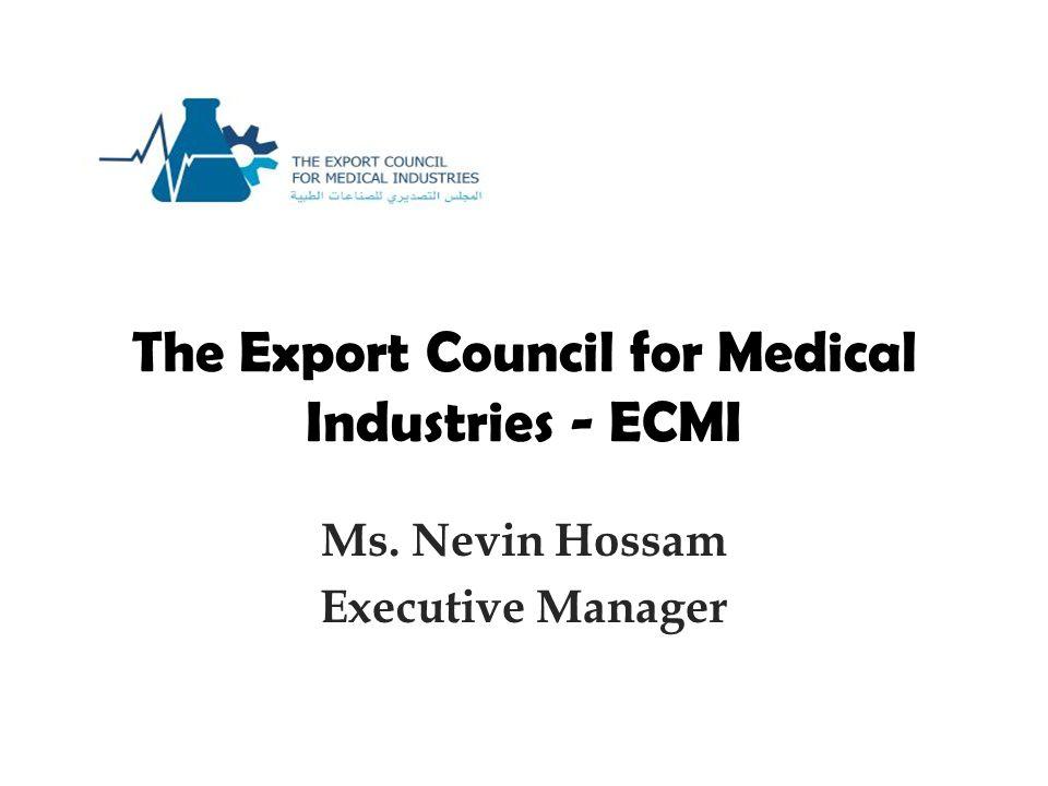 The Export Council for Medical Industries - ECMI