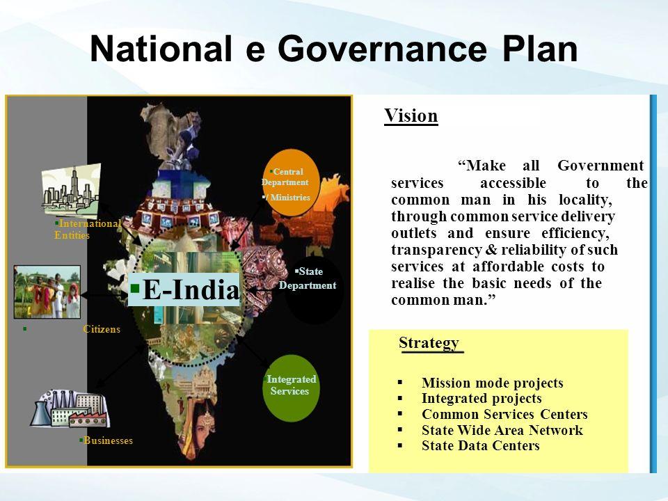 National e Governance Plan